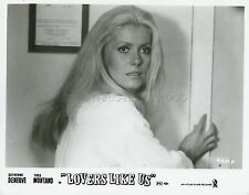 CATHERINE DENEUVE  LE SAUVAGE 1975 VINTAGE PHOTO ORIGINAL #3