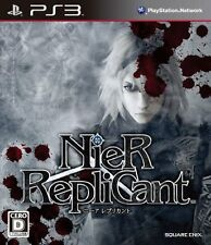 USED NieR Replicant japan import PS3