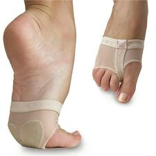 Belly Ballet Dance Paws Cover Foot Forefoot Toe Undies Thong Half Lyrical Sock M