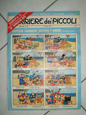 fumetto CORRIERE DEI PICCOLI n.23 1965 totò tritolo e ciccibùm da ritagliare