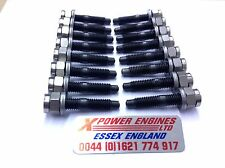 COSWORTH EXHAUST MANIFOLD STUDS, NUTS, WASHERS X 16 SIERRA ESCORT 2WD 4WD RS