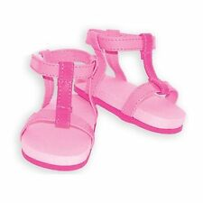 "SF Springfield STRAPPY PINK SANDALS for 18"" Dolls American Girl Summer Shoes NEW"