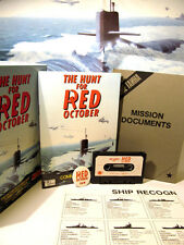 RETRO SPECTRUM-CASSETTE GAME-THE HUNT FOR RED  OCTOBER -USED 48K