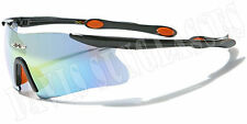 Men's  X Loop Sunglasses XL13001 UV400 Davis E5 sports wrap cycling biking golf