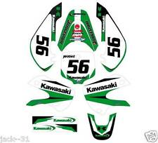 NG RACING KAWASAKI KX65 KX 65 VINYL Motocross Graphic Kit 2000-2013