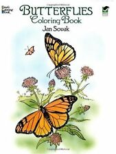 Butterflies Adult Colouring Book Creative Gift Relaxing Art Therapy Calm Mind
