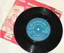 GEORGE HAMILTON IV WHO'S TAKING YOU TO THE PROM RARE SINGLE VINYL 45 RECORD 1958