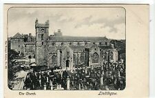 THE CHURCH, LINLITHGOW: West Lothian postcard (C10765)