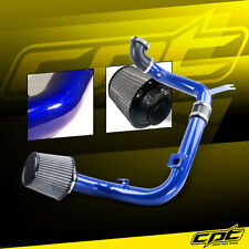 00-04 Ford Focus 2.0L 4cyl DOHC Blue Cold Air Intake + Stainless Steel Filter