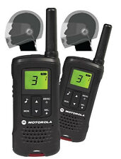 Motorola TLKR T60 PMR446 Walkie Talkies & Full Face Motorcycle Bike Headsets