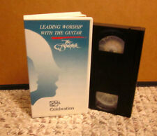 LEADING WORSHIP WITH GUITAR Fisherfolk music Christian VHS right tone Mimi Farra