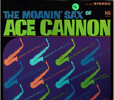 """ACE CANNON!! - """"MOANIN' SAX OF"""" HI-32014 STEREO LP VG!!"""