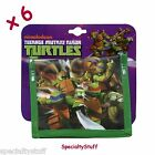 6 NEW TMNT NON WOVEN CHILDS BiFOLD WALLET 2 SIDE TEENAGE MUTANT NINJA TURTLES TP
