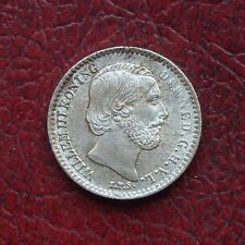 Netherlands 1881 silver 10 cents