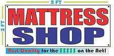MATTRESS SHOP Banner Sign NEW Size Best Quality for The $