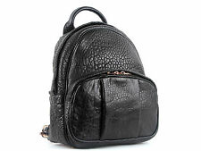 Alexander Wang Black Leather Dumbo Backpack With Rose Gold Brand New With Tag