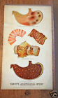 Antique Victorian anatomical poster chart disease stomach intestines Yaggy's