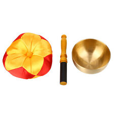 Bell Buddhism Singing Bowl Buddhist Meditation Healing Relaxation With Cushion