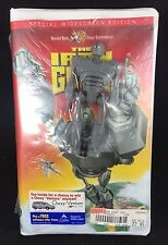 THE IRON GIANT WARNER BROS VHS NEW SEALED WITH ACTION TOY 1999 ANIMATED CLASSIC