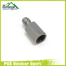 "Paintball Stainless Steel Male Quick Disconnect Female Threads 1/8"" NPT"