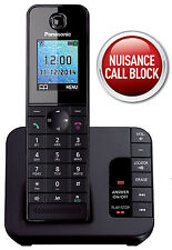 NEW Panasonic KX-TGH220 Main Cordless Phone Answer Machine Nuisance Call Block