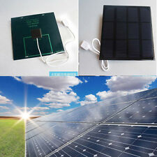 6v 3.5w 520MA Solar Panel USB Travel Battery Charger For Handheld Devices