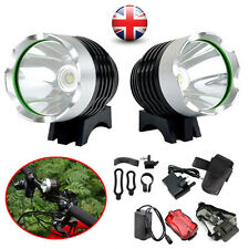 CREE XM-L XML T6 LED 2000 Lm Bicycle Bike light HeadLight Head lamp Rechargeable