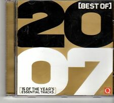 (FD638) Best Of 2007, 15 tracks various artists - 2007 Q Magazine CD