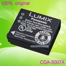 New Genuine Original Panasonic CGA-S007A CGA-S007E Battery for DMC-TZ1 TZ5 TZ4