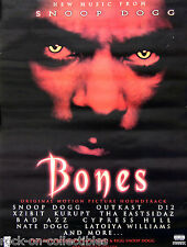 Snoop Dogg 2001 Bones OutKast D12 Priority Records Promo Poster