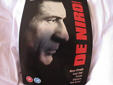 Robert De Niro Collection (DVD, 2006, 5-Disc Set, Box Set) STEELBOOK ^disp.24hrs