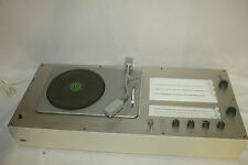 Audio Marrone 1 giradischi con Radio design by Rams, VINTAGE 1962 anni lui