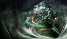 130 League of Legend Akali CUSTOM PLAYMAT ANIME PLAYMAT FREE SHIPPING