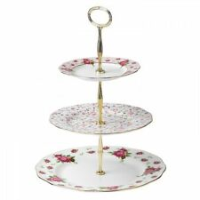 New Royal Doulton Royal Albert Vintage Cake Stand Three-Tier