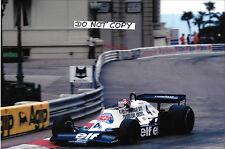9x6 Photograph, Patrick Depailler  Tyrrell-Cosworth 008 , Monaco Grand Prix 1978