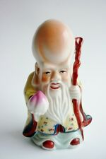 Vintage Chinese Famille Rose Porcelain Immortal Statue Figurine