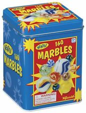 Marbles in a Tin Box, 160-Piece , New, Free Shipping