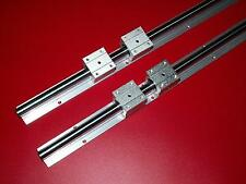SBR30-3000mm 30MM LINEAR SLIDE GUIDE SHAFT 2 RAIL+4SBR30UU Bearing Block CNC set