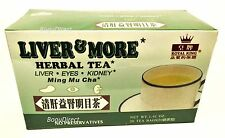 2 Boxes ROYAL KING LIVER & MORE HERBAL TEA (Liver-Eyes- Kidney) 40 bags Total