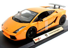 Maisto Lamborghini Gallardo Superleggera 1:18 Diecast Model Car Orange