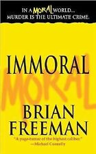 BUY 2 GET 1 Jonathan Stride Ser.: Immoral 1 by Brian Freeman (2006, Paperback)