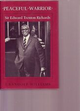 PEACEFUL WARRIOR Sir Edward Richards 1988 HC/DJ Bermuda Premier Desegregation