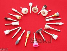 100pcs Assorted Dental Polishing Polisher Brush Wheel Latch Type(20pcs/set)