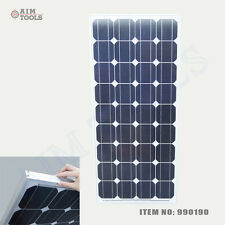 990190 100W 18V Crystalline Silicon Solar Panel Caravan Boat Electric Generator