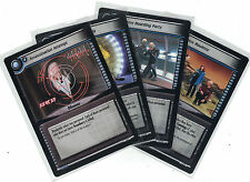 Star Trek CCG Decipher 2nd Base Edition : 3x Rare Cards   freie Auswahl    Lot
