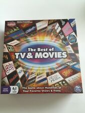 The Best of TV & Movies Trivia Board Game New and Sealed