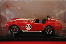 SOLIDO 1/18 VOITURE SHELBY COBRA 427 1965 NEUF
