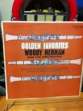 "WOODY HERMAN AND HIS ORCHESTRA - GOLDEN FAVORITES on 12"" LP RECORD -"
