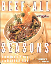 Omaha Steaks - Beef for All Seasons - 20 recipes for each season, HB
