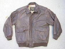 Reeds Sportswear Vintage Leather A-2 Flight Jacket size: L
